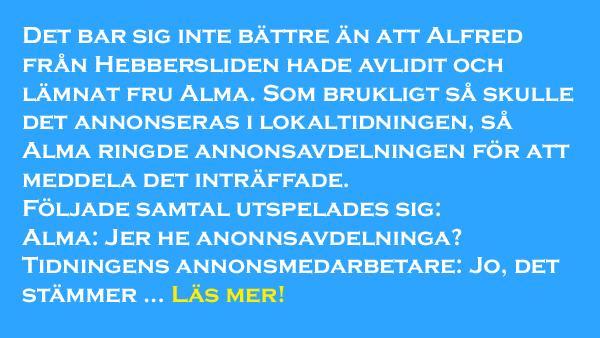 Alfred från Hebbersliden