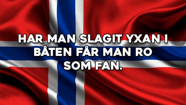 Norska ordspråk