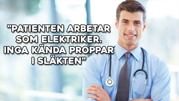 Patientjournaler - doktorn skrev 1-50