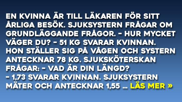Sjukvården i Sverige är under all kritik - efter ett besök på sjukhuset föll denna kvinnas självförtroende rejält