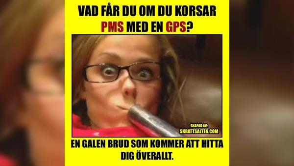 PMS med en GPS