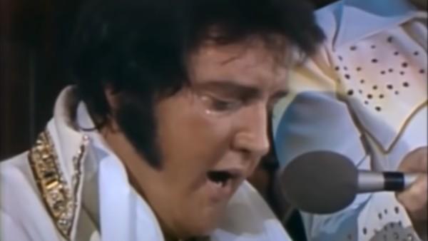 Det är inte många som sett Elvis sista spelning - det här ger oss alla gåshud