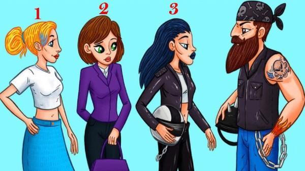 Utmaning: Vem är fru till mannen på bilden?